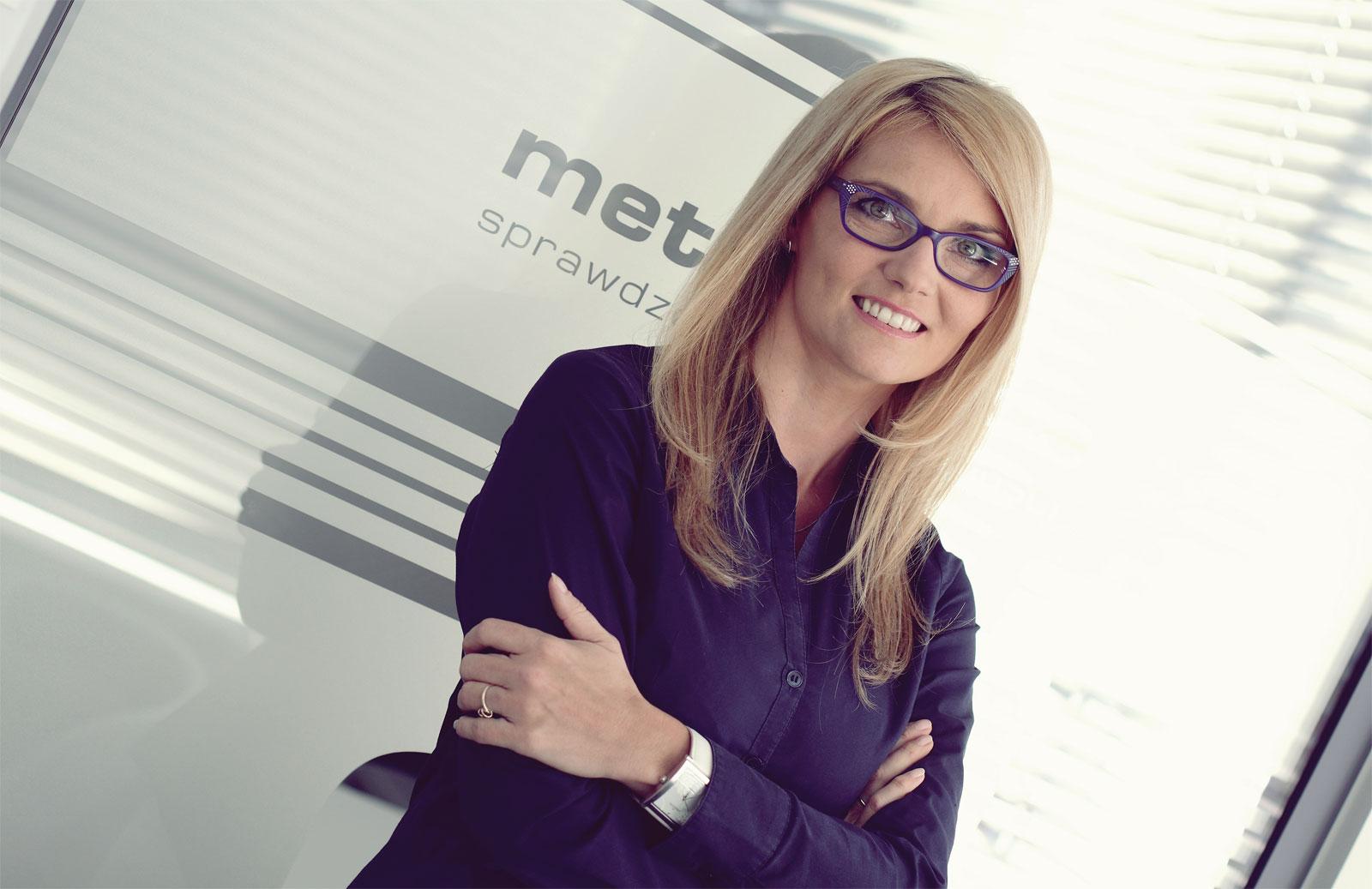 Agata Korzeniewska, dyrektor sieci franczyzowej Metrohouse