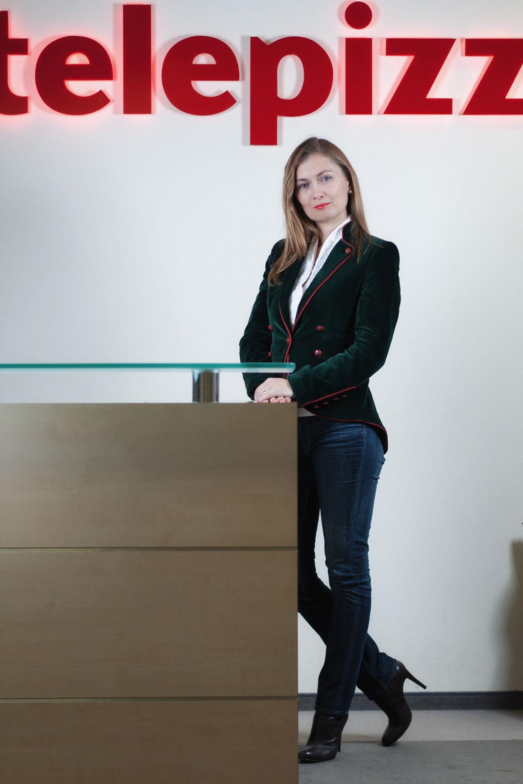 Iwona Olbryś, dyrektor generalna Telepizza Poland