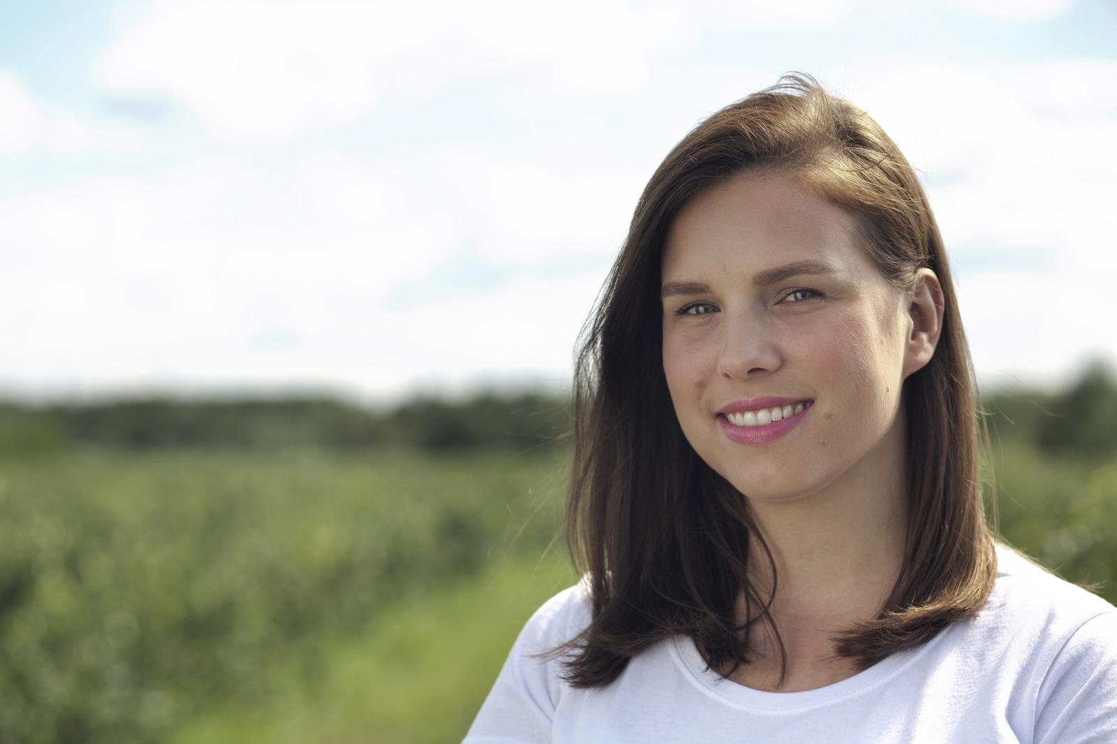 Agata Małkiewicz,  prezes Dar Blue