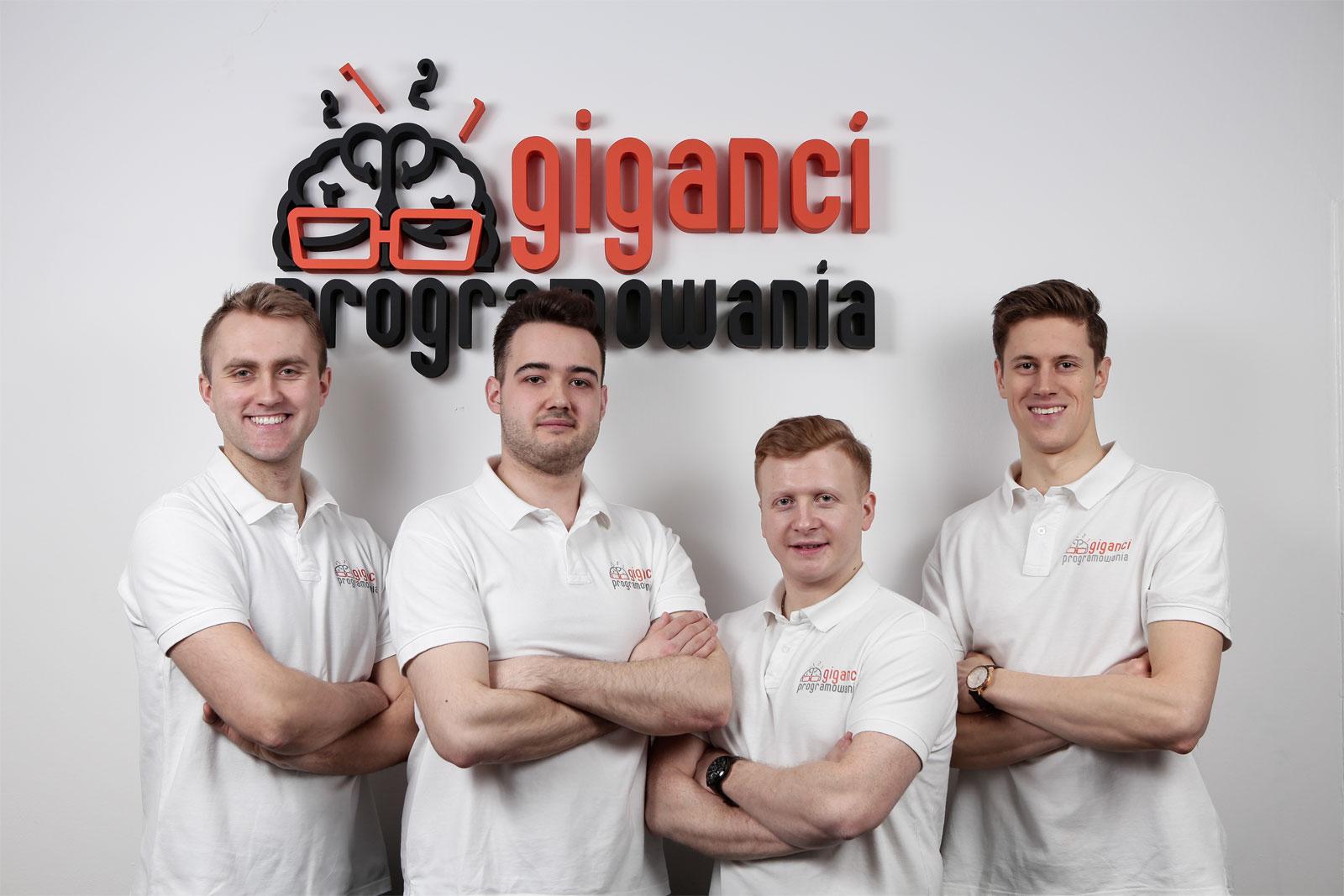 Radosław Kulesza, współwłaściciel marki Giganci Programowania