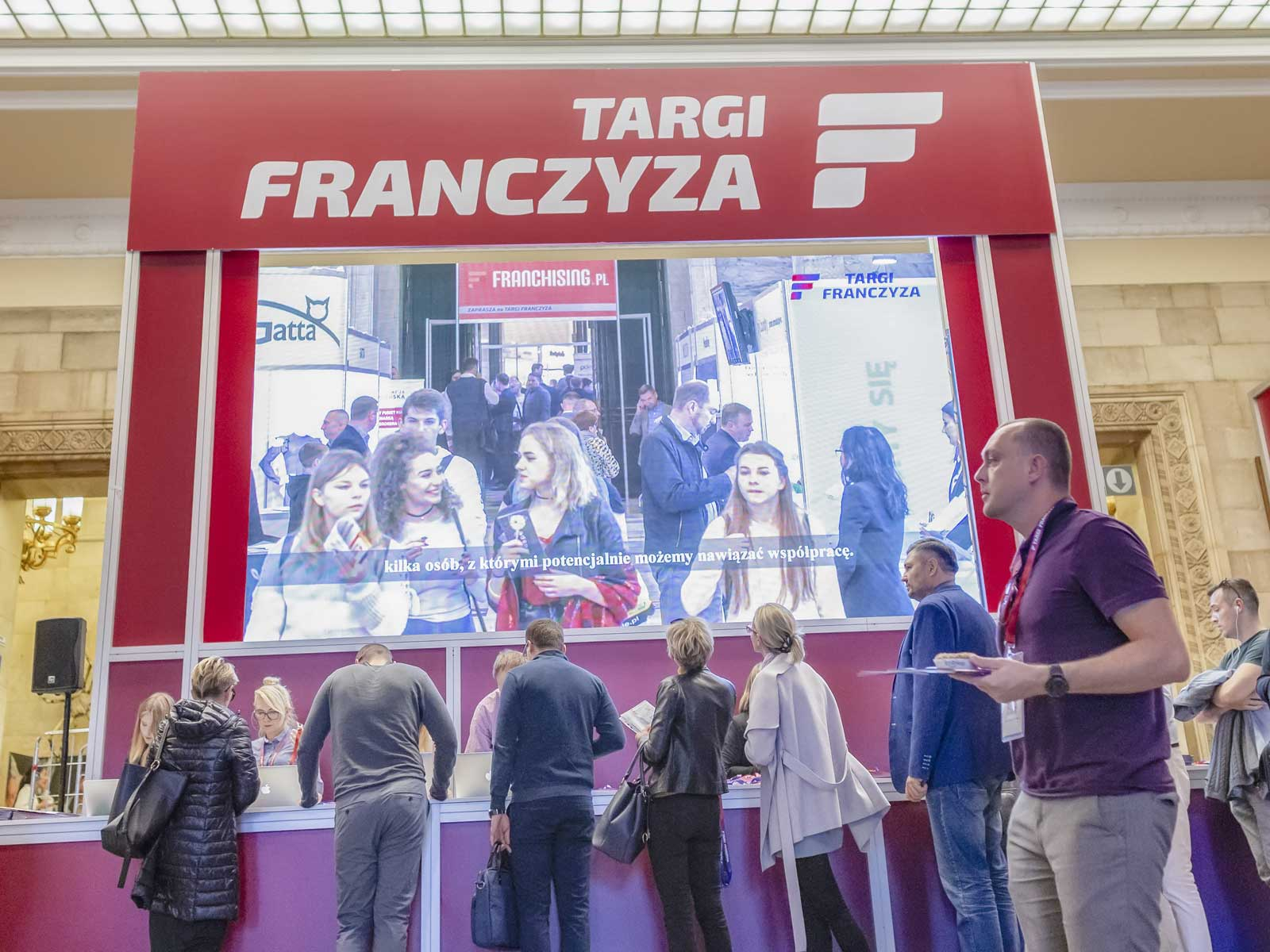 200 franchise brands and 7.000 visitors