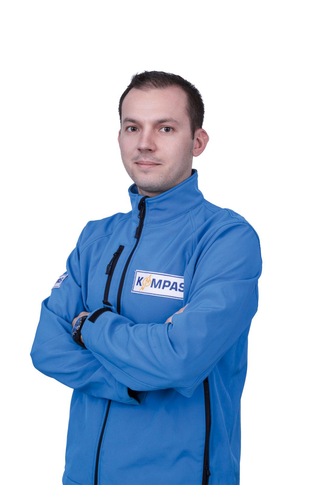 Michał Boniec, zastępca dyrektora BTA Kompas