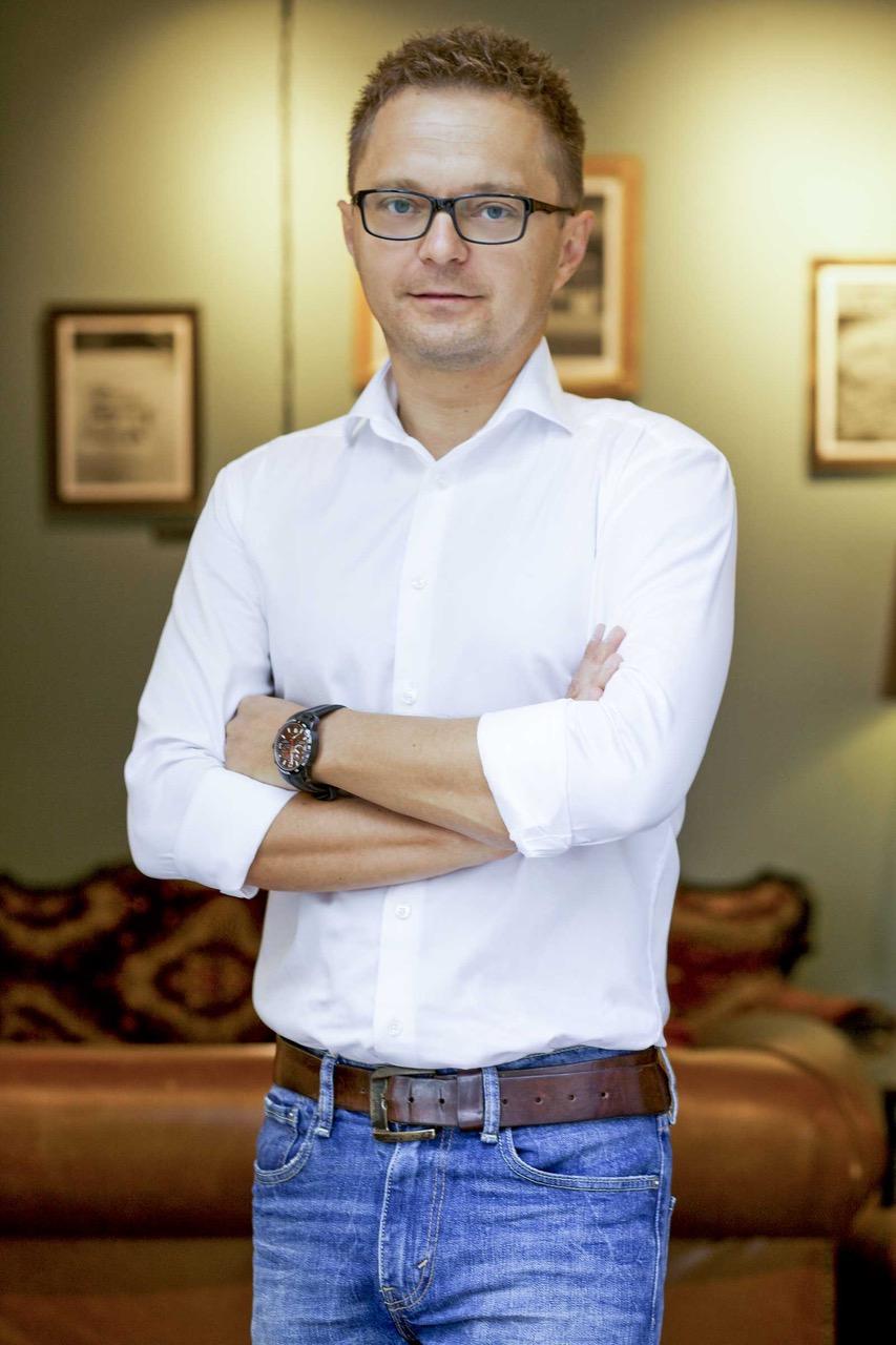 Marcin Pierścionek, menedżer ds. rozwoju sieci franczyzowej Epaka