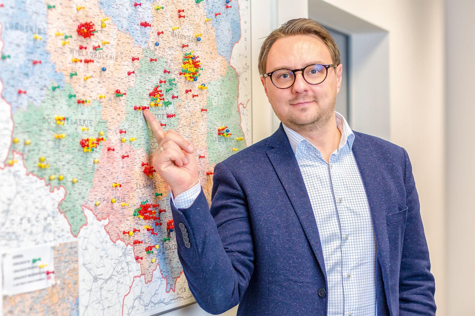 Krzysztof Dziukała, dyrektor sprzedaży Sweet Gallery