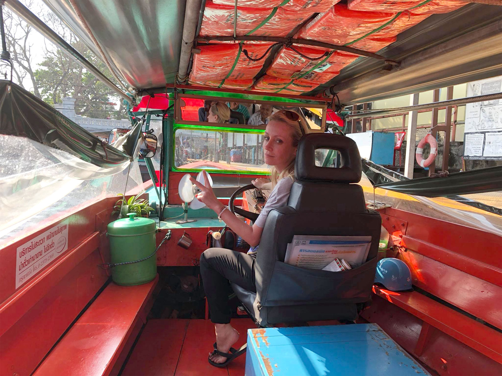 Dominika Mączyńska, właścicielka  biura podróży Malanay Travel