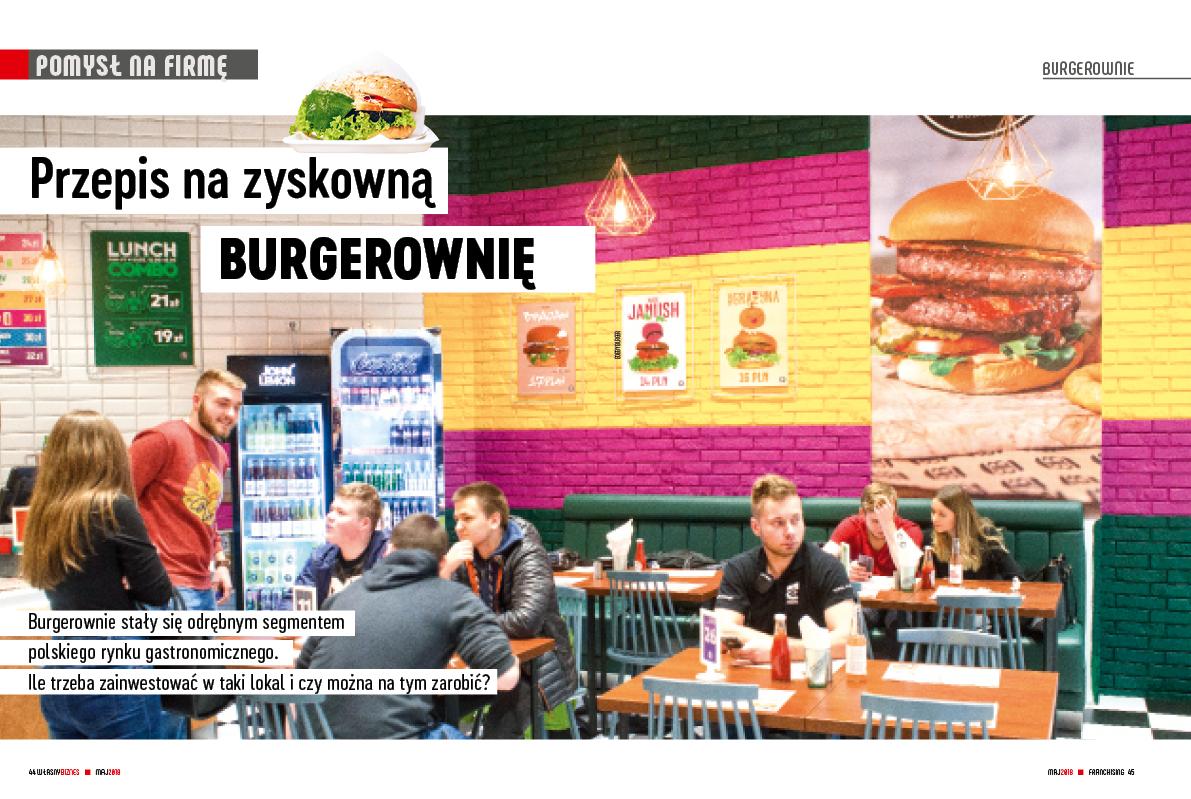 Przepis na zyskowną burgerownię