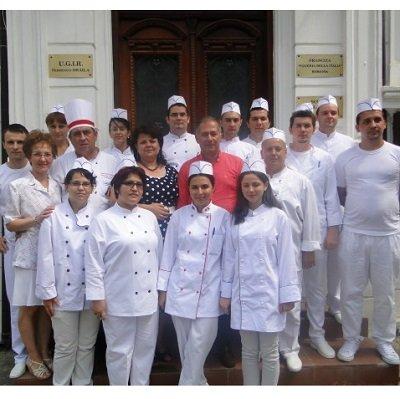La final de curs, o poză de grup