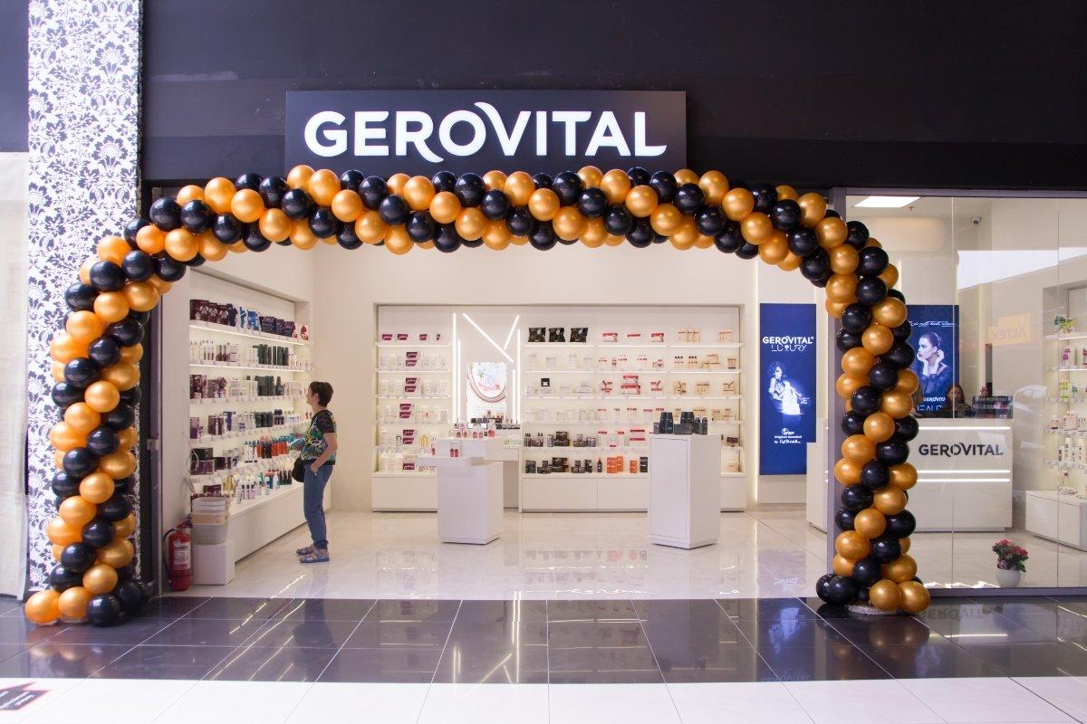 Primul magazin Gerovital în franciză