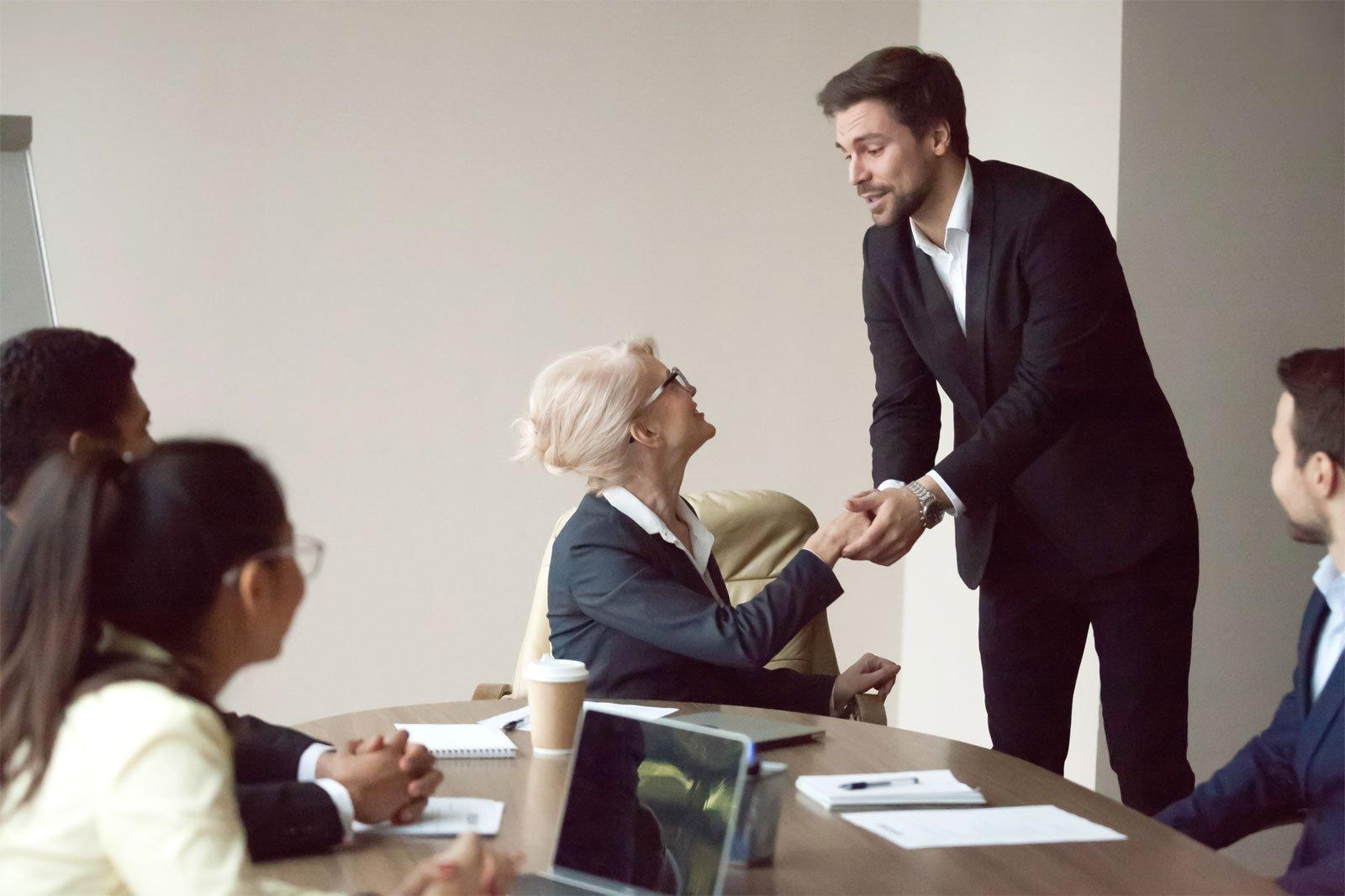 Bunele maniere în afaceri