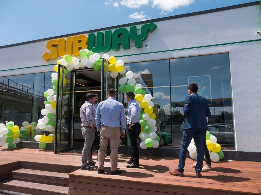 Lansare concept SUBWAY® Fresh Forward
