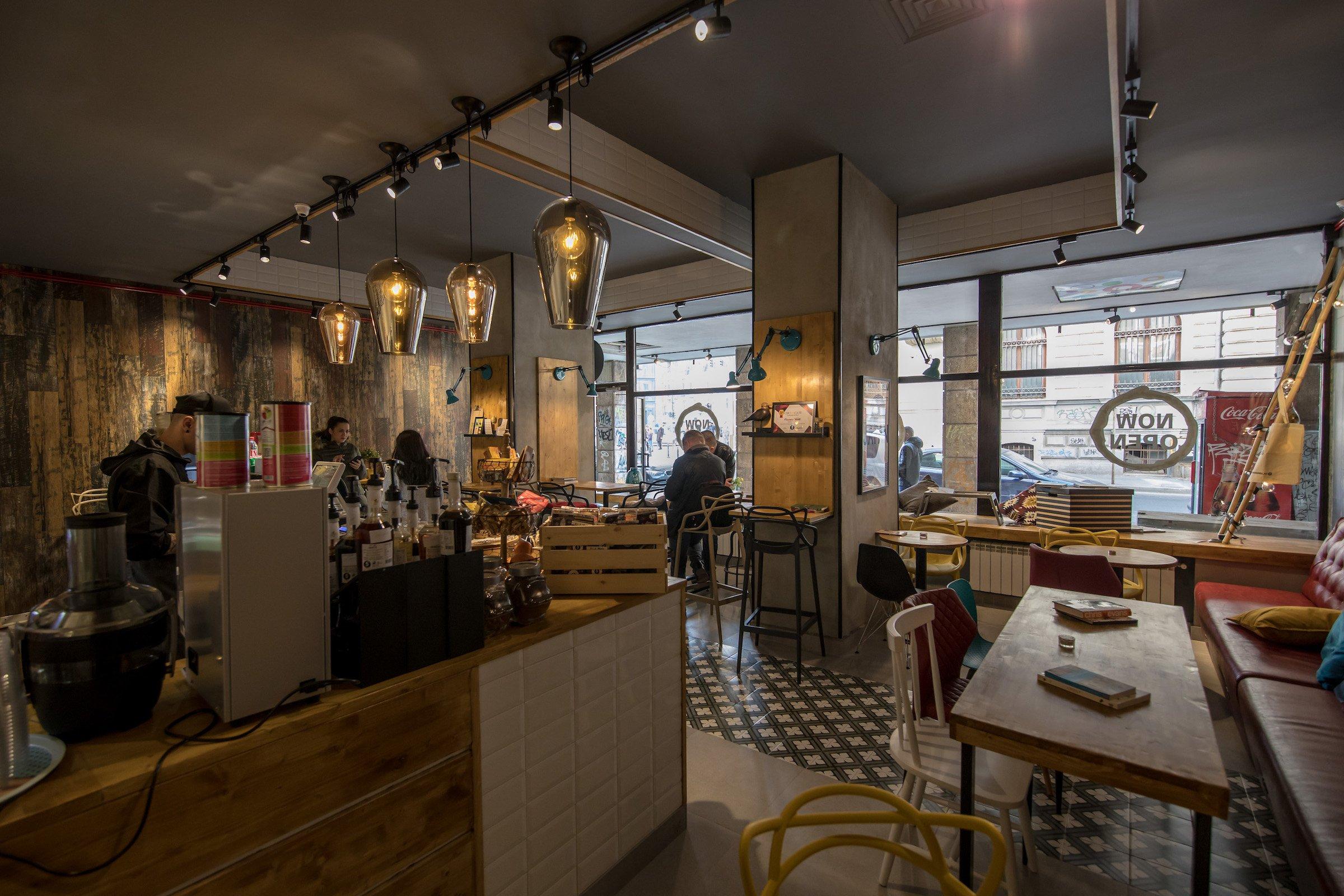 Coffee Studio Concept