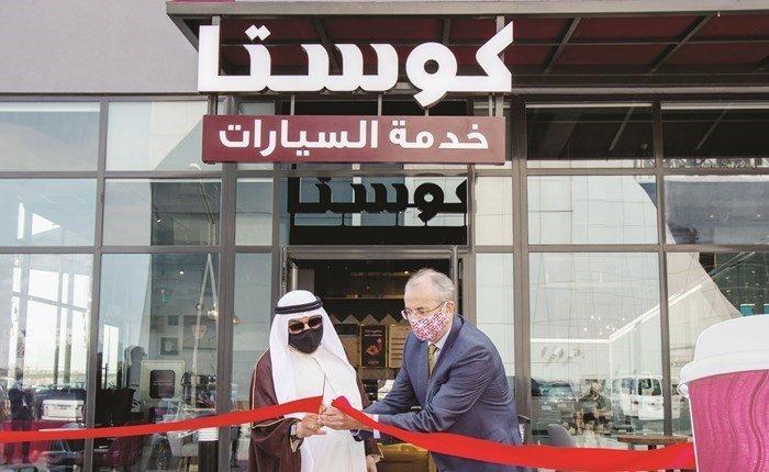 افتتاح الفرع 100 من كوستا كوفي بالكويت Franchising Sa الامتياز التجاري ريادة أعمال