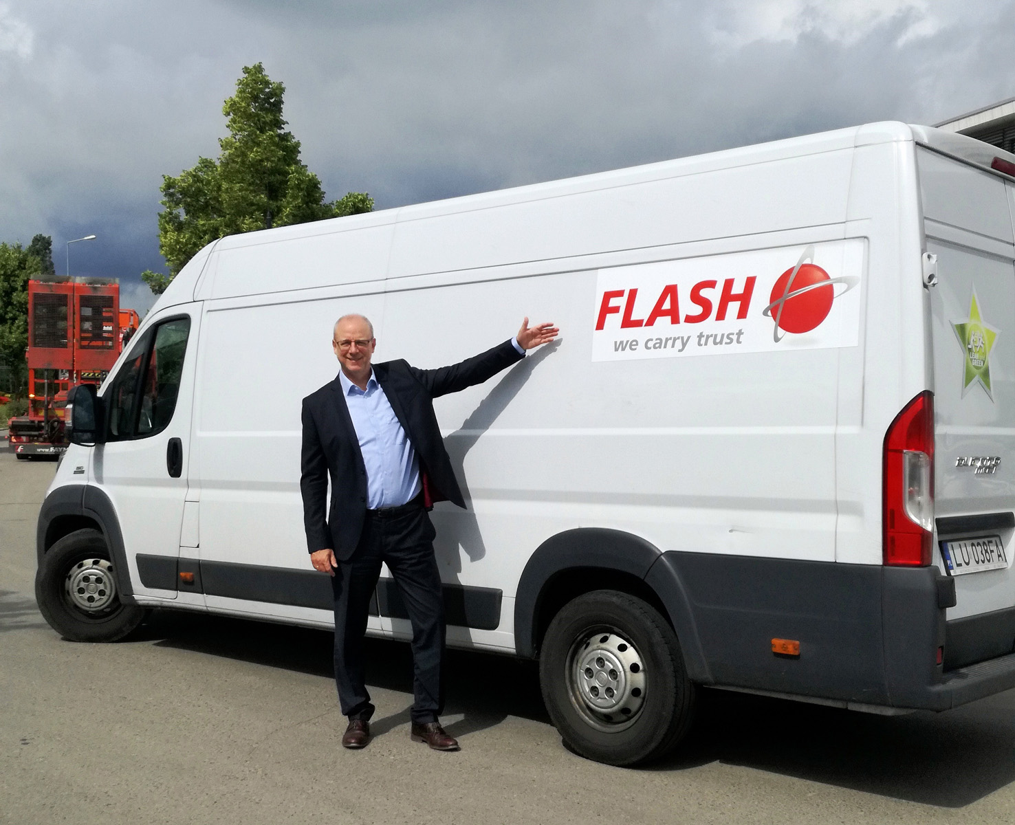 Frank van Doorn, Manager de franciză al companiei Flash Europe