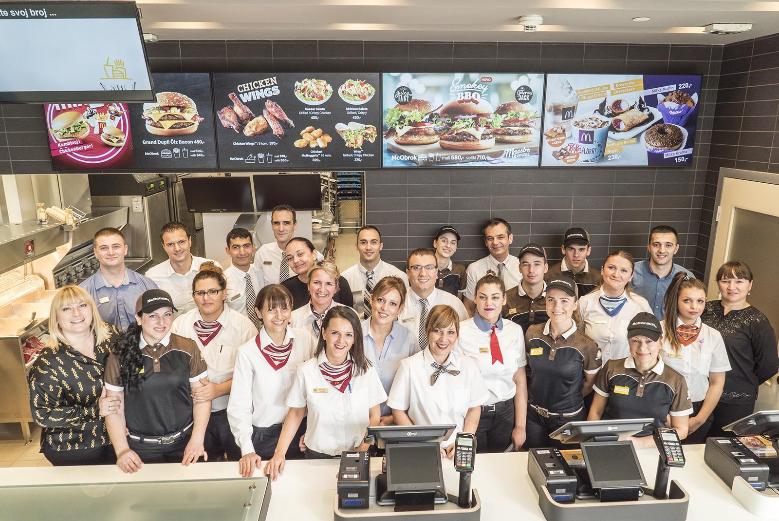 27. McDonald's u Srbiji