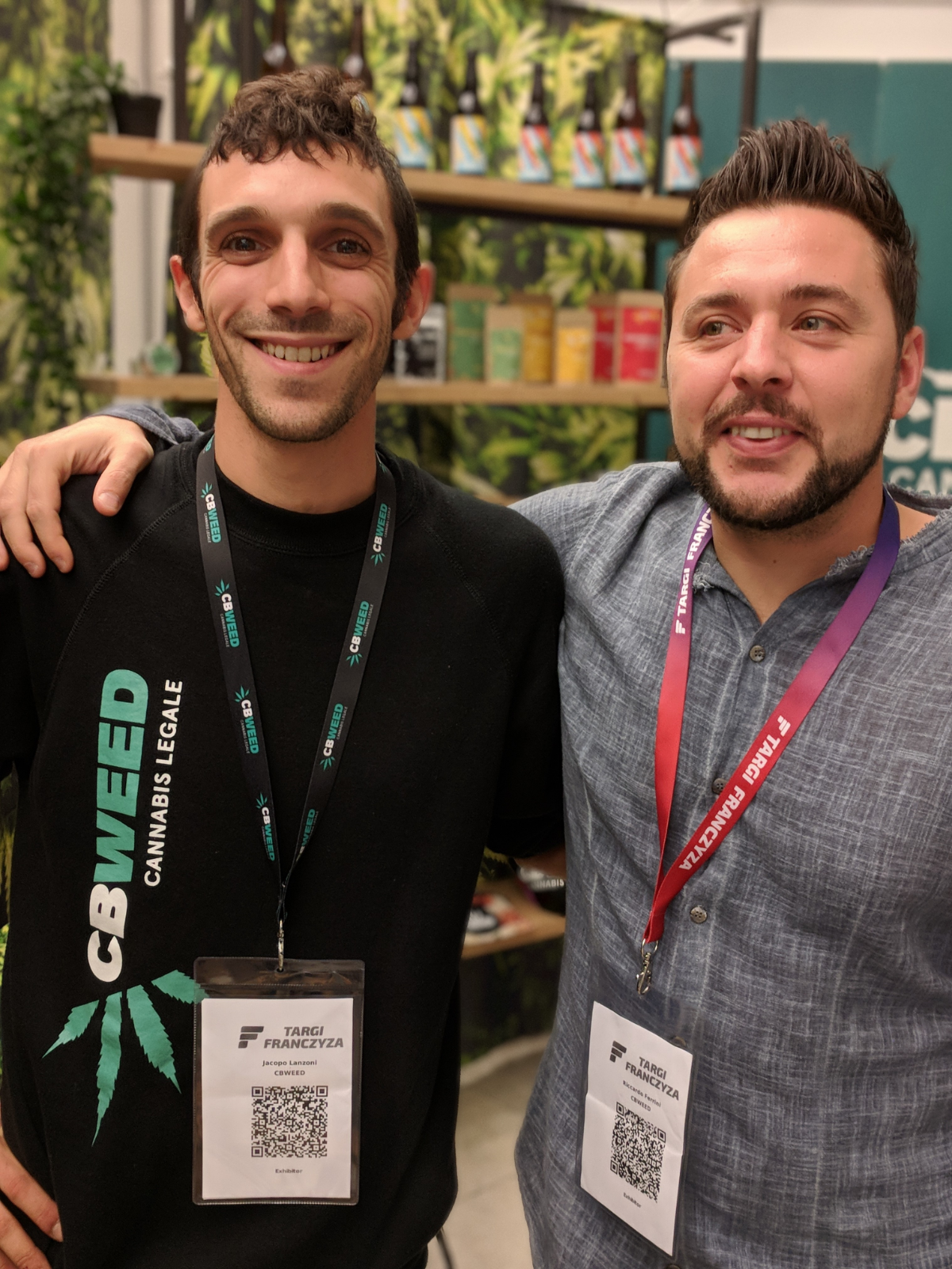 Jacopo i Riccardo, vlasnici i najbolji promotori branda Cbweed