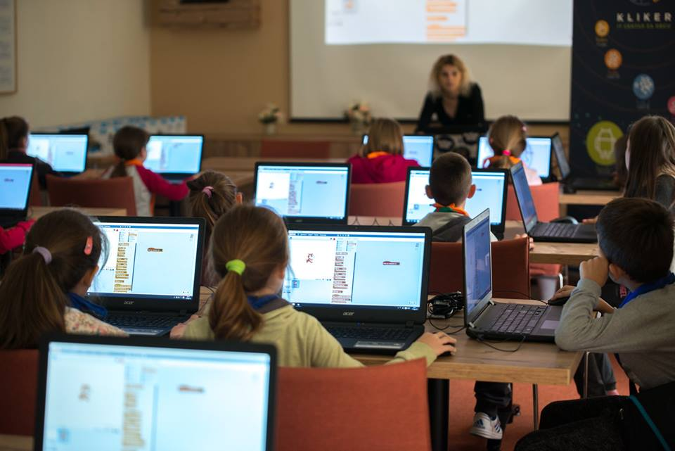 Kliker IT centar za decu