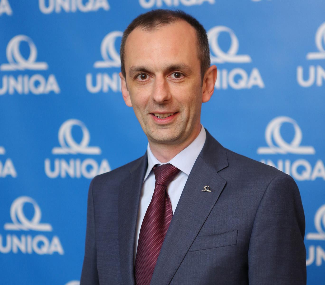 Nikola Đurić, direktor Divizije za prodaju UNIQA osiguranja